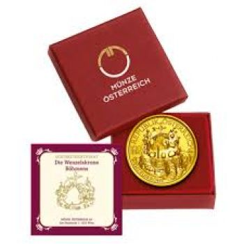 100 Euro Gold 2011 Wenzelskrone PP