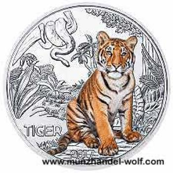 3 Euro Tier Taler 2017 Tiger